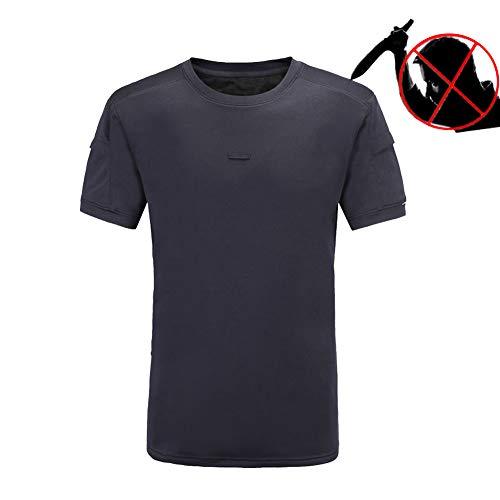 HIMA Militär Taktische Weste,Elastische aktivitäten Sicherheitsweste T-Shirt,Spezialfaserplatte Schützen Sie den Körper,Männliche und weibliche - Militär Kostüm Weiblich