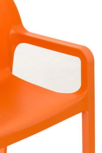 CLP Kunststoff-Gartenstuhl DIVA mit Armlehnen - 7