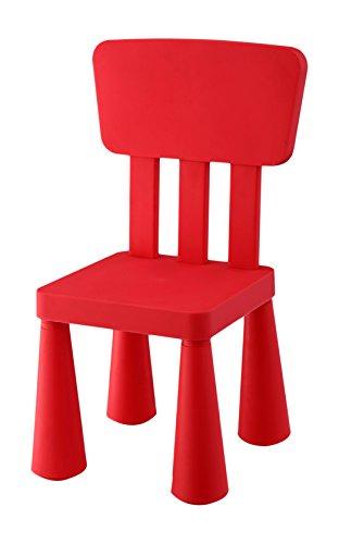 Aranaz Silla Infantil, Color Rojo (Mueblear SL 90053)