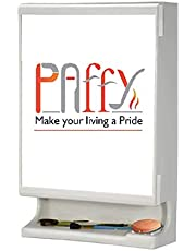 PAffy New Look Bathroom Cabinet with Mirror - White