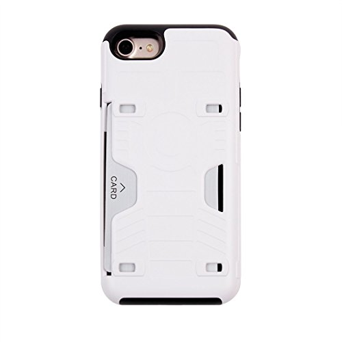 iPhone Case Cover Pour iPhone 7 Champion de boxe Gold Belt résistant aux chocs TPU + PC combinaison cas avec slot pour carte ( Color : Gold ) White