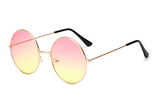Chic-Net Gafas gafas de sol hippie Unisex Ronda John Lennon tintados 400UV largo embarcadero