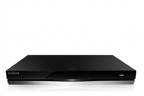Samsung BD-E8500/EN 3D Blu-ray-Rekorder 500GB (2D/3D-Konverter, DVB-T/-C, PVR) schwarz