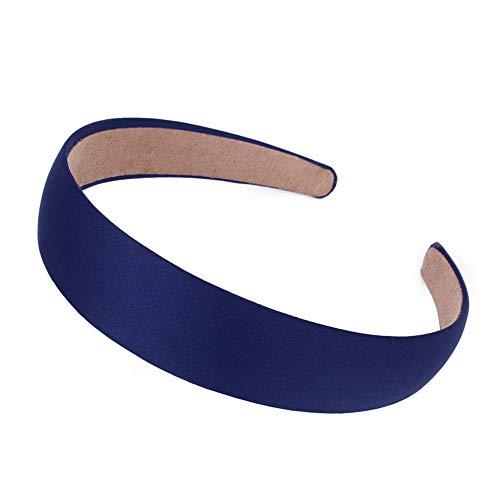 Neu Flexibilität Haarband Damen Mattfarbe Stirnband, LEEDY Mädchen Einfarbig Haarnadel Niedlich Süß Weich Scheint Headband Wild Haarreif Gebundenes Kopfband Stirnbänder