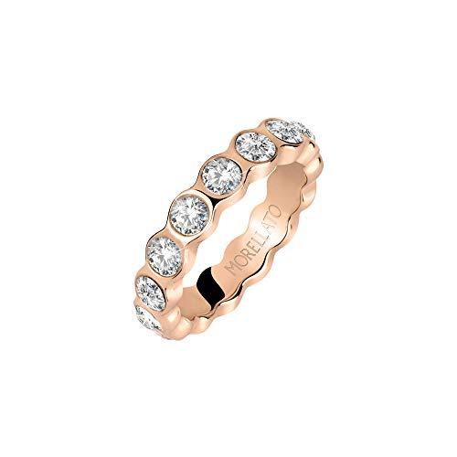 Morellato Damen-Ringe Edelstahl mit '- Ringgröße 58 SAKM39018