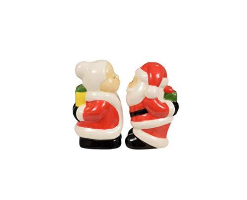 nd Pfefferstreuer Mrs. Claus & Santa Santa Claus Salz- und Pfefferstreuer Miss Claus Salz- und Pfefferstreuer Ms. Claus Weihnachtsdekoration für den Winter. ()