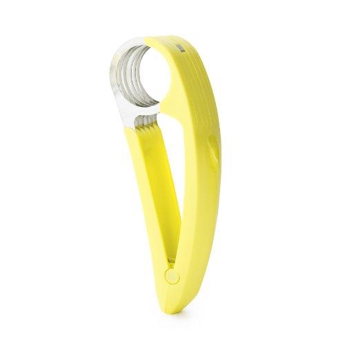 Boon Nanner Hand-Held Banana Slicer - Yellow Handheld-slicer