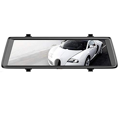 10 pulgadas de espejo retrovisor 4G Streaming Media Wif espejo retrovisor inteligente doble grabación de navegación Android