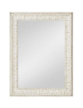 Specchiera di legno stile vintage con fregi disponibile in diverse rifiniture L'ARTE DI NACCHI SP-144