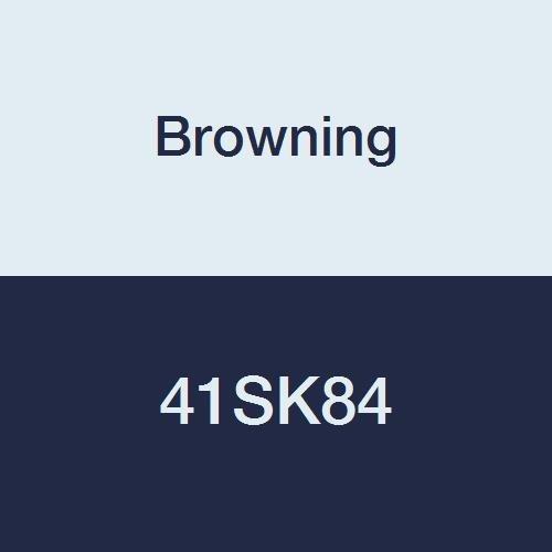Browning 41sk84Roller Kettenrad, Single Strand, q-d, gebürstetem, Stahl, 41-pitch, 84Zähne -
