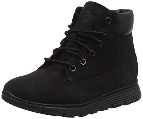 Timberland Unisex-Kinder Killington Klassische Stiefel, Schwarz (Black Nubuck 1), 31 EU