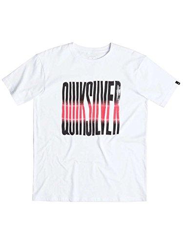Herren T-Shirt Quiksilver Classic Neon Front T-Shirt White