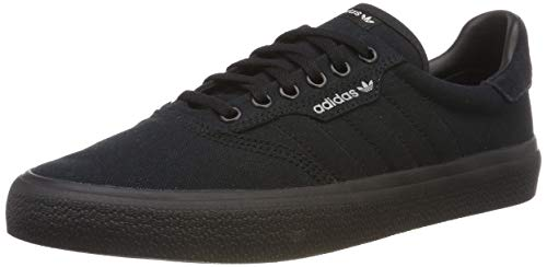 adidas Herren 3MC Vulc B22713 Sneaker, Schwarz (Black), 44 2/3 EU Retro-sneaker