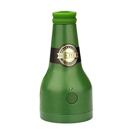 Koojawind 2 pz birra versatore, birra schiuma creatore birra a batteria foamer accessori per esterni, portatile progetto di schiuma di schiuma macchina erogatore di birra montante sostituzione