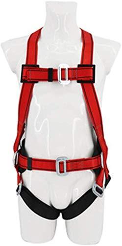 Gpzj Imbracatura da Arrampicata per lavori Aerei in Poliestere ad Alta Resistenza Cintura di Sicurezza Antinfortunistica Recinzione Cintura di Sicurezza Albero Alpinismo Alpinismo
