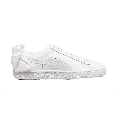 Puma Basket Bow Animal Wn's Sneaker Donna 367828 01 White (40 EU)