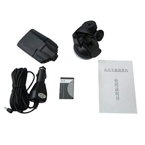Noradtjcca 2,5-Zoll-Display-Mikrofon Eingebaute Auto-HD-Kamera für Videorecorder mit Nachtsichtfunktion (Sie Elektronik Recyceln Alte)