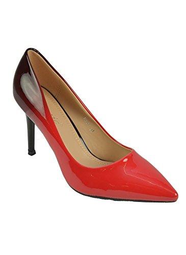Escarpins Dégradés Rouge Rouge