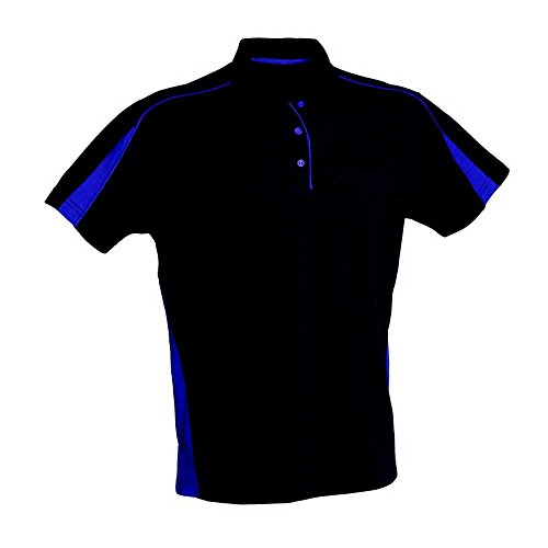 Finden & Hales Womens Club Polo Shirts Navy/Purple