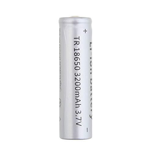 18650 3200mAh 3.7V wiederaufladbare ungeschützte Li-Ionbatterie Notbeleuchtung tragbare Geräte Elektrowerkzeug 3.7