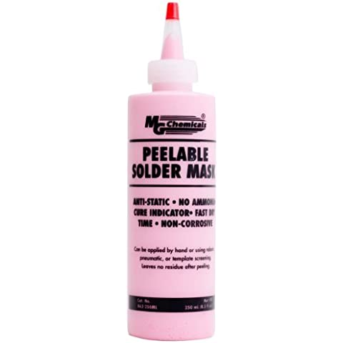 MG Chemicals 862 Peelable Solder Mask 250 ml Tube by MG Chemicals