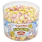 Swizzels Foam Mushrooms Fun Gums - 600 Pack