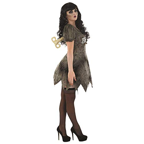 Gruselige Puppe Kostüm Eine - Fun Shack Damen Costume Kostüm Wind Up Doll, Women: 20-22