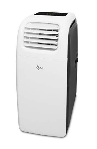 Suntec Wellness 15427 IMPULS 3.8 Eco R290 mobiles lokales Klimagerät Schwarz-Weiß -