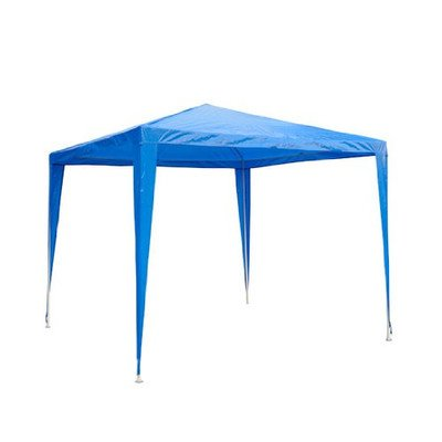 Outsunny 2.7m x 2.7m Garden Heavy Duty Gazebo Marquee Party Tent Wedding Canopy Outdoor(Blue)