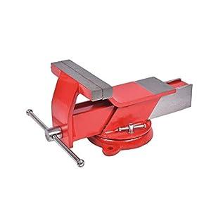 Cogex 64406 – Tornillo de banco giratorio (acero)