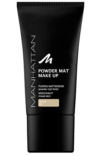 Manhattan Powder Mat Make up - Sand 80, 30 ml -