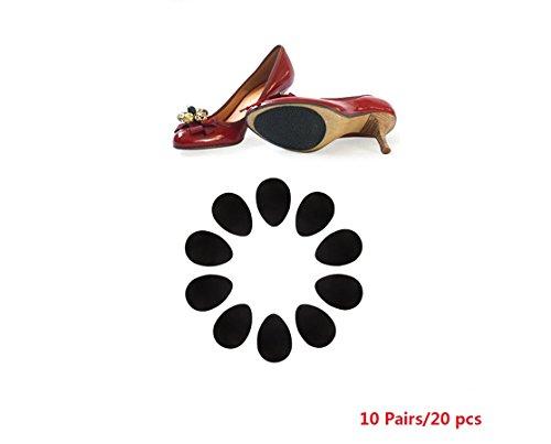 10 paires/20 Pcs Anti-Dérapant Chaussures Talon Semelle Protecteur de Poignée Anti-Dérapante Coussinets