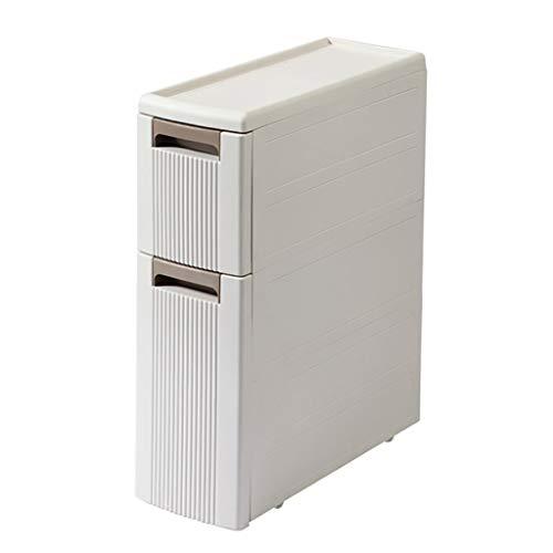 REGAL HUYP Badezimmer-Badezimmer-gestepptes Speicher-Kabinett-Fach-Speicher-Kabinett Mobile (größe : S) (Lebensmittel-speicher-kabinett)