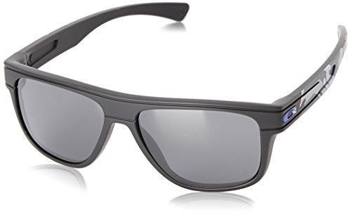 Oakley Herren Breadbox Rechteckig Sonnenbrille, Carbon/Black Iridium (S3)