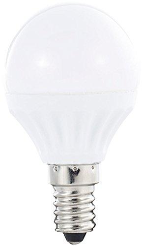 Luminea LED-Lampe E14 Tageslicht: LED-Tropfen, 4 W, E14, 300 lm, 6.400 K, P45-P, tageslichtweiß (Tageslichtweisse E14 LED-Birnen)