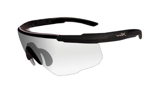 Wiley X Schutzbrille Saber Advanced, Matt Schwarz, M/XL, 303