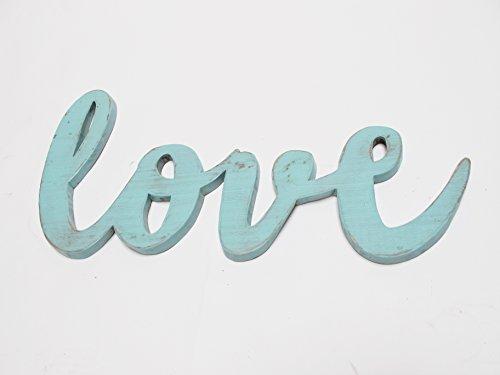 Palabra de madera. Señal de madera. Love. Letras decorativas para col