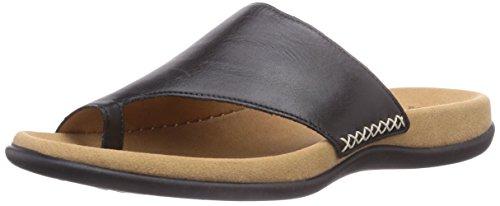 Gabor Shoes 03.700.27_Gabor Damen Pantoletten, Noir, 39 EU -
