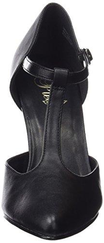 Pleaser Vanity-415, Escarpins Femme, Schwarz Noir (Blk Faux Leather)