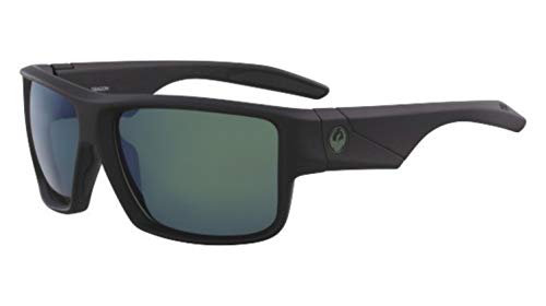 Dragon Sonnenbrille Matte Black H2O polarisierte Benzin DEADLOCK 38642-003 - Für H2o Sonnenbrille Männer Dragon