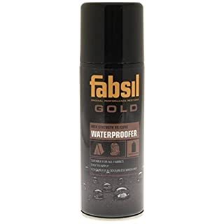 Fabsil Gold Universal Silicone Water Proofer - Black, 200 ml by Fabsil