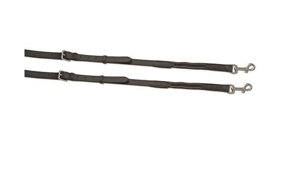 Kincade Leather//Elastic Side Reins