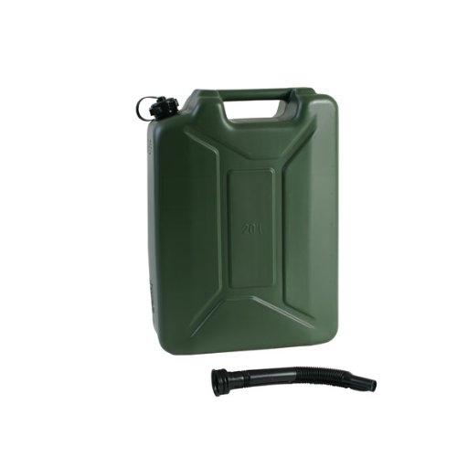 Benzinkanister 20 L Army Kunststoff