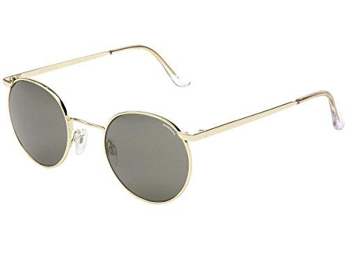 361ccaa304 Randolph Engineering P3 autour des lunettes de soleil en or 23 carats gris  P3P1411 49 Grey