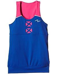 Nafta Top Fitness Azul / Fucsia 8 años (128 cm)