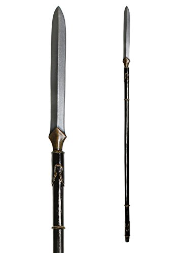 -Waffe ca. 200 cm aus Schaumstoff Polsterwaffe Fantasy Krieger Hexer Speer Mittelalter Schaukampf Wikinger ()