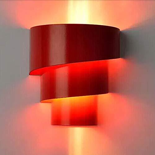 Haohe lampada da parete creativa lampada da parete moderna in ferro lampada da parete semplice da comodino luci soggiorno luci scale laterali