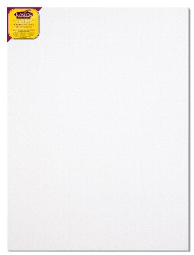 Loxley Gold LCC-4836 - Lienzo preestirado, color blanco