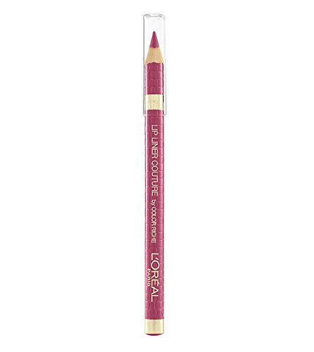 Femme-couture-make-up (LOREAL Color Riche Lip Liner Couture 256 Blush Fever)