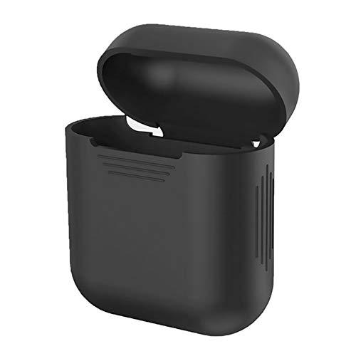 VEVICE custodia in silicone per Airpods ricarica box, iPhone x accessori box a prova di shock casi protettiva cover cuffia auricolare Bluetooth (nero)